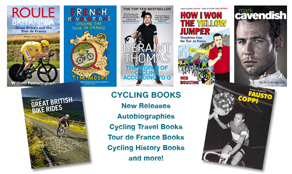 Cycling books from Bromley Video