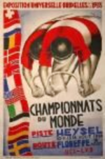 1935 World Championships Poster